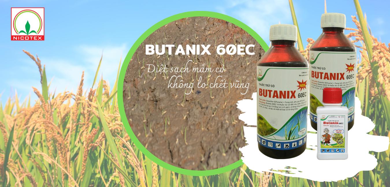 Thuốc trừ cỏ tiền nảy mầm Butanix 60EC